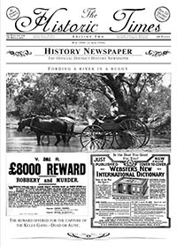 The Historic Times  Newspaper Issue Two